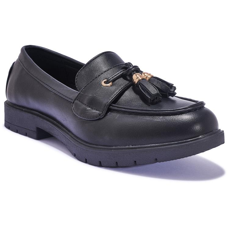 1533-41 Black Loafers.