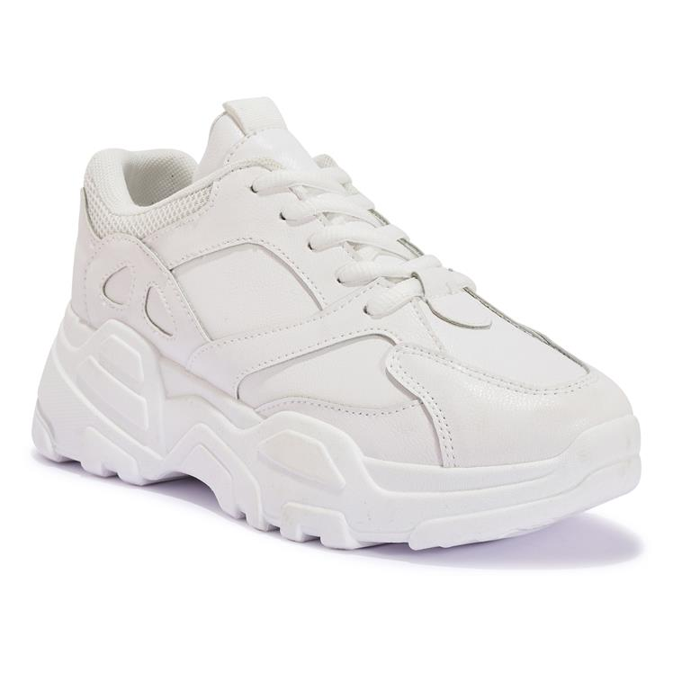 200417 CHUNKY LACE UP TRAINER