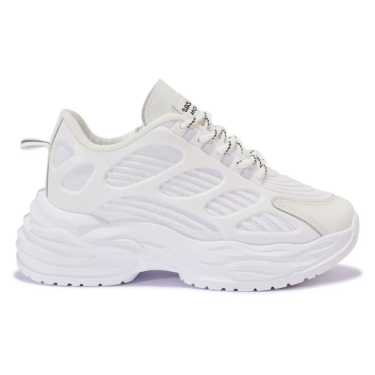 200672 CHUNKY MESH CONTRAST TRAINER