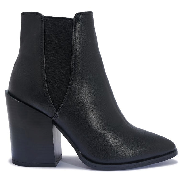 BETTY5 BLOCK HEEL WESTER ANKLE BOOT