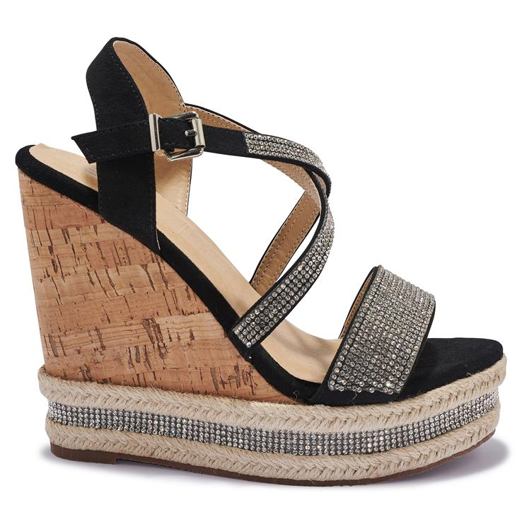 H1760-16 High Wedge Sandals