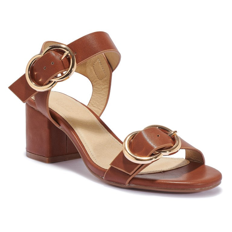 HALLIE85 Block Heel Sandals