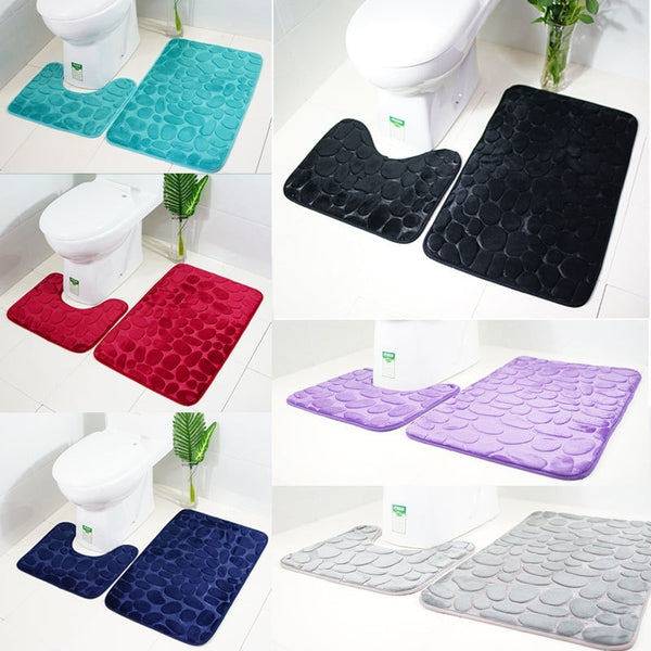 2-pc Bathroom Rugs