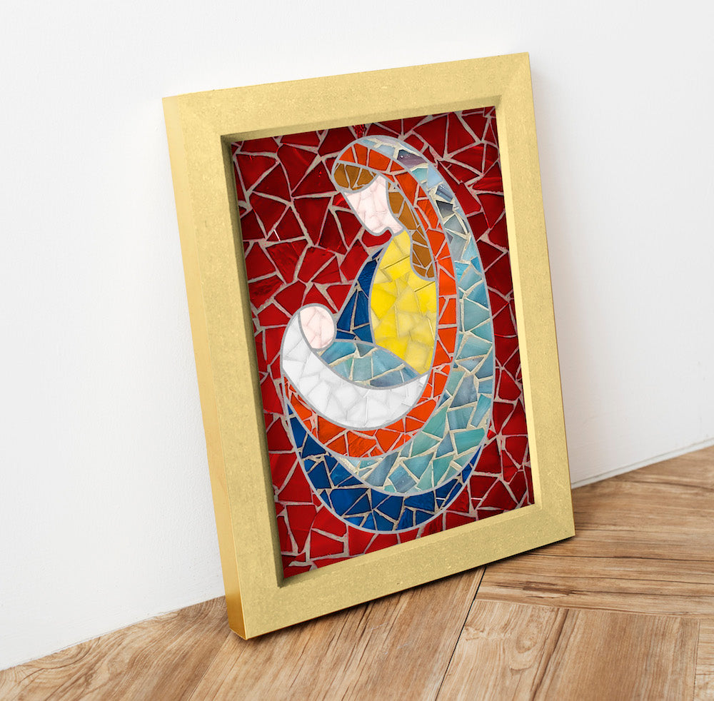 DIY Mosaic Kit - Virgin Mary 3