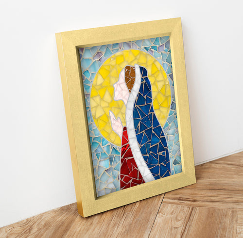 DIY Mosaic Kit - Virgin Mary 1