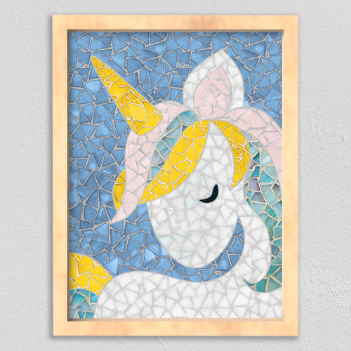 DIY Mosaic Kit - Unicorn Design