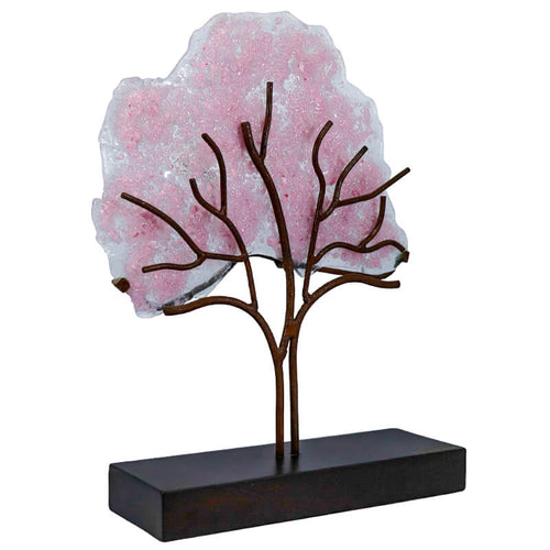 Maquilishuat Tree, Handmade Collective Glass Art Figure