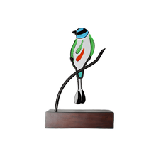 Upload image to gallery viewer, Abstract Torogoz: Handmade decorative figure of national bird