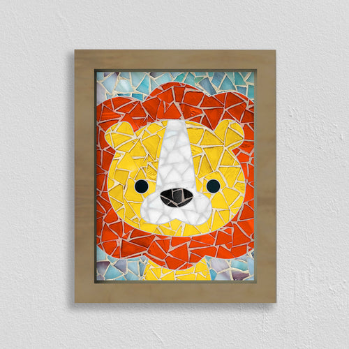 DIY Mosaic Kit- Lion Design
