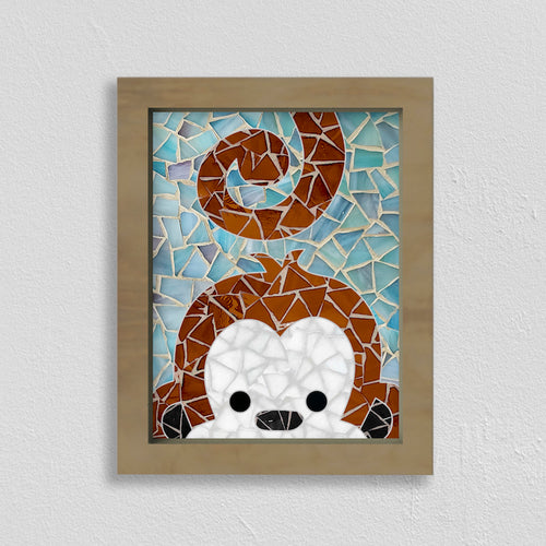 DIY Mosaic Kit- Monkey Design