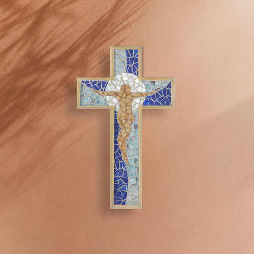 DIY Mosaic Kit - Cross Shape, Christ