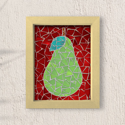 DIY Mosaic Kit- Pear Design 1