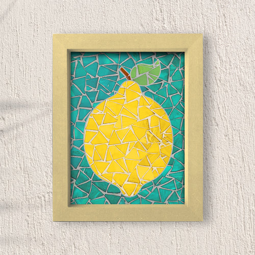 DIY Mosaic Kit- Lemon- Design 3