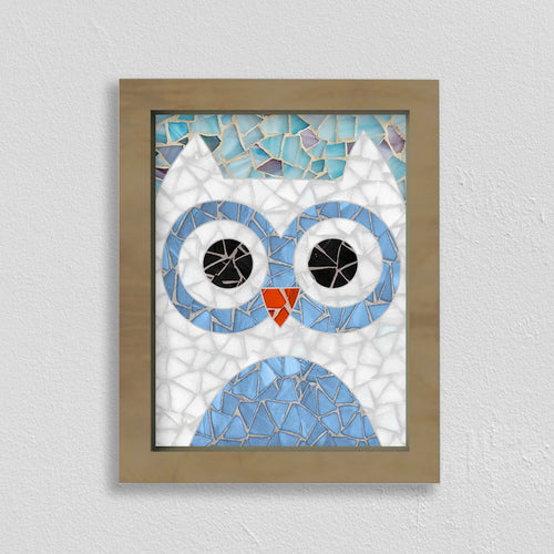 DIY Mosaic Kit- Owl Design