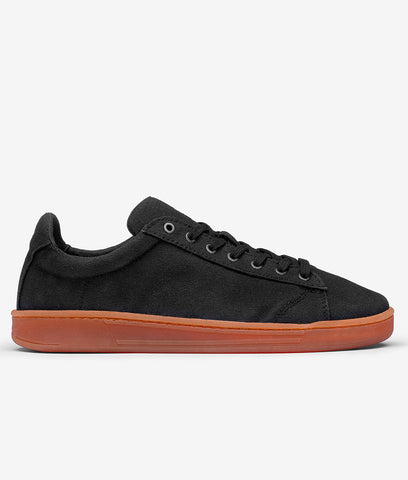 WAES Vegan 1982 Canvas Shoe -  Black Red