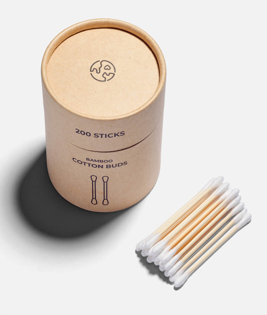 Zero Waste Club Bamboo Cotton Buds - x200 Pack