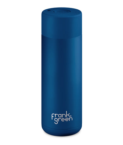 Frank Green Ceramic Reusable Cup 595ml - Deep Ocean