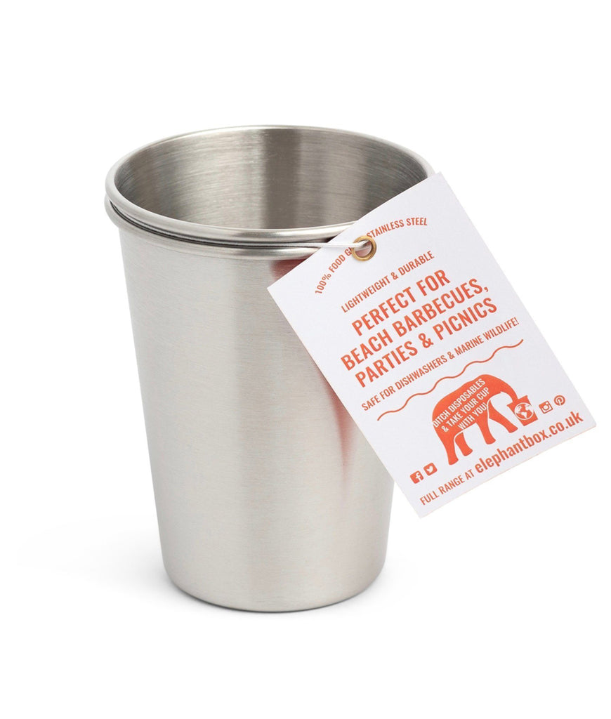 Elephant Box 350ml Cups - x2 Pack