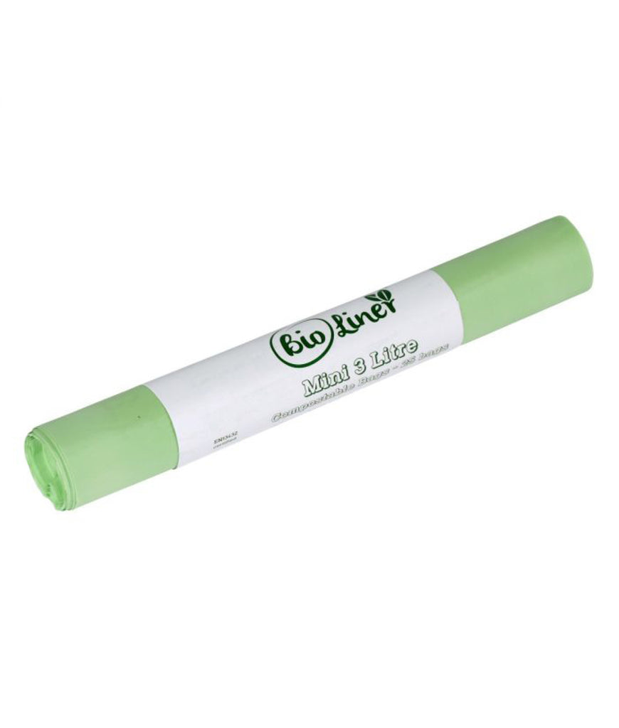 All Green Compostable Caddy Bin Liners 3L - x25