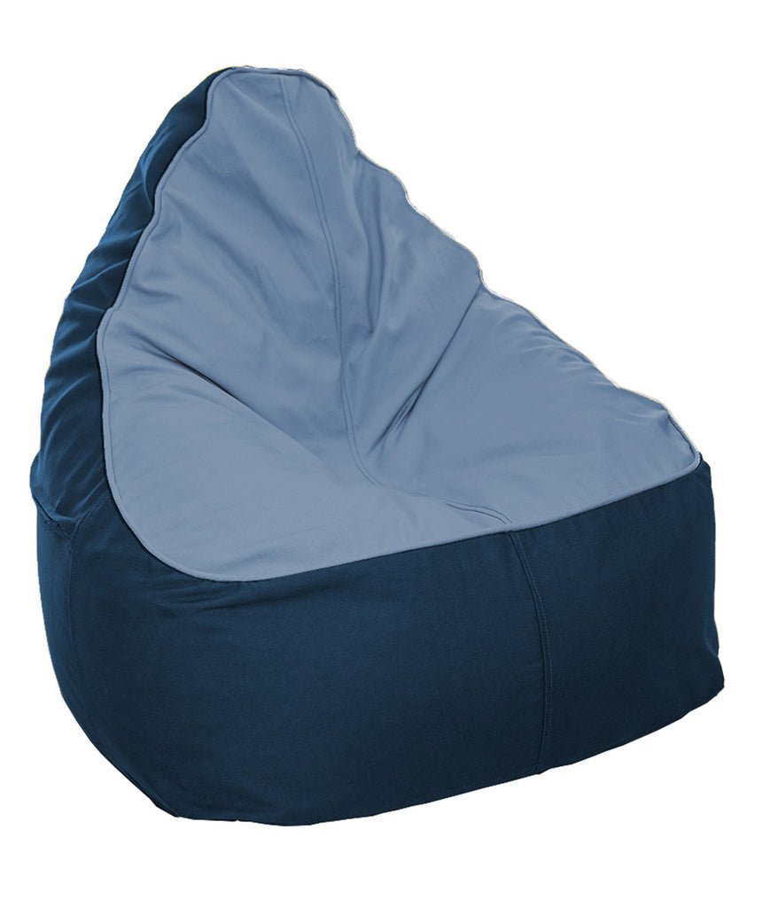 The Big Bean Bag Company Bean Bag - Sky & Ocean