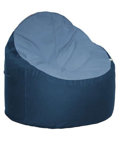 The Big Bean Bag Company Bean Chair - Sky & Ocean