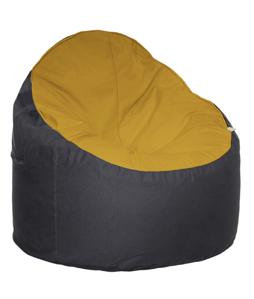 The Big Bean Bag Company Bean Chair - Sunset & Oyster