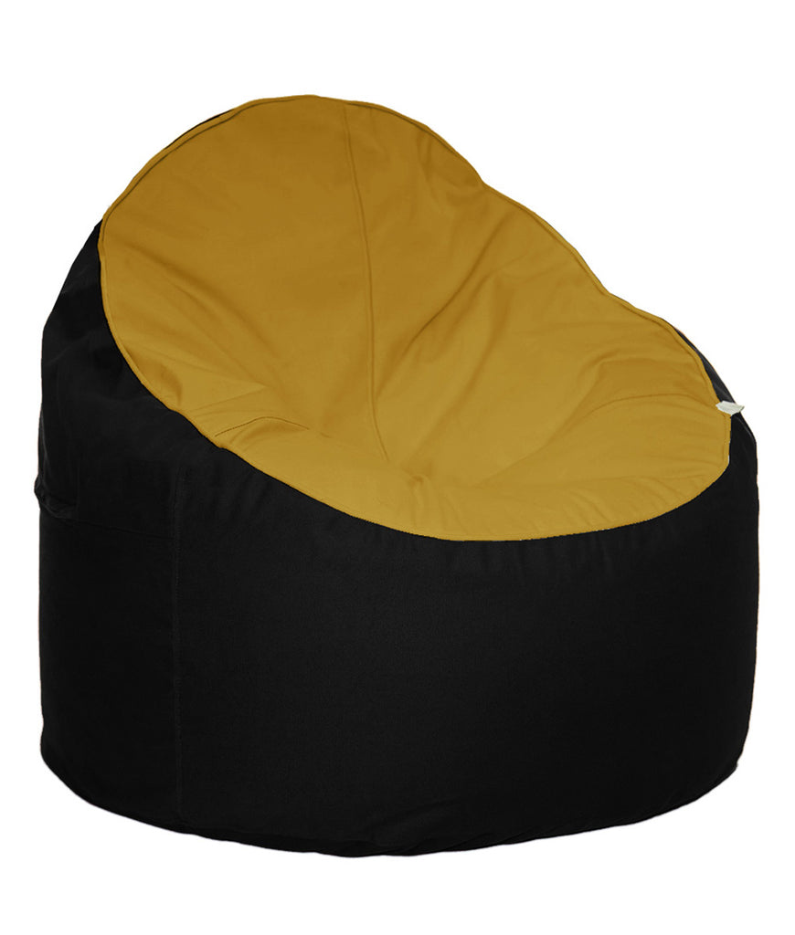 The Big Bean Bag Company Bean Chair - Sunset & Orca