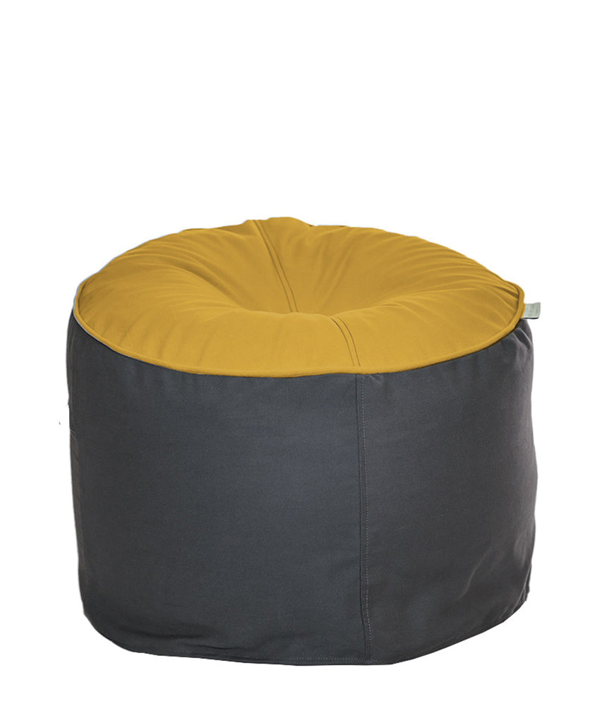 The Big Bean Bag Company Bean Stool - Sunset & Oyster