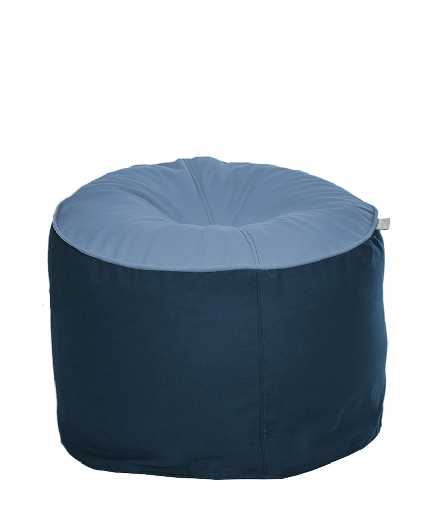 The Big Bean Bag Company Bean Stool - Sky & Ocean