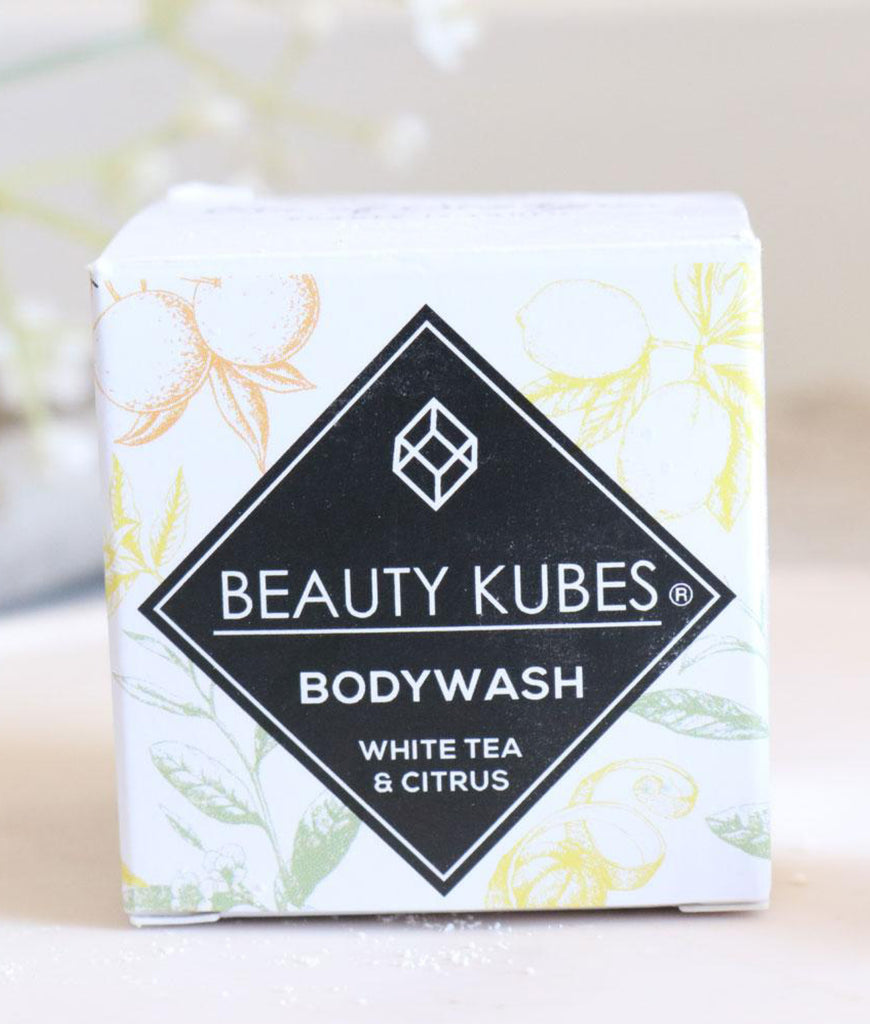 Beauty Kubes Body Wash - White Tea & Citrus