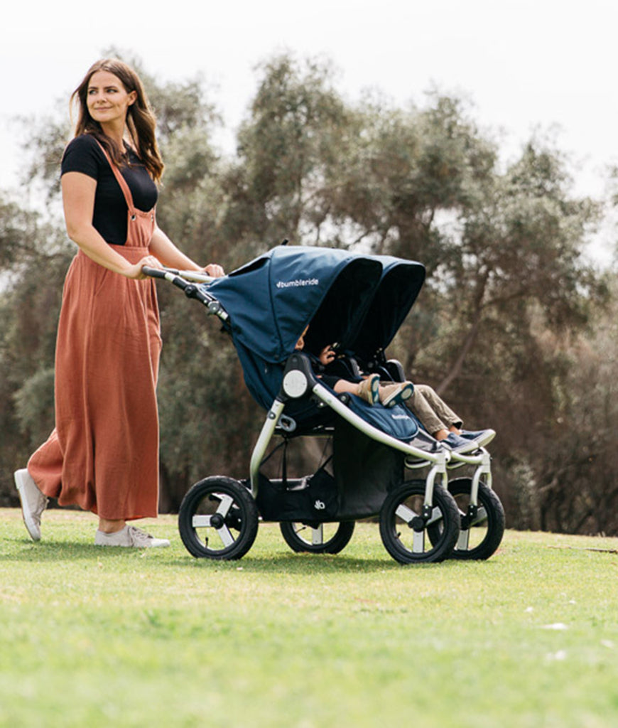 Bumbleride Indie Twin Everyday Double Stroller - Dawn Grey