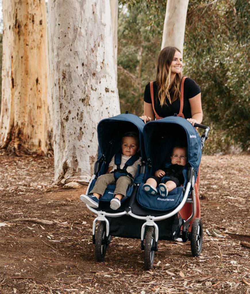Bumbleride Indie Twin Everyday Double Stroller - Matte Black