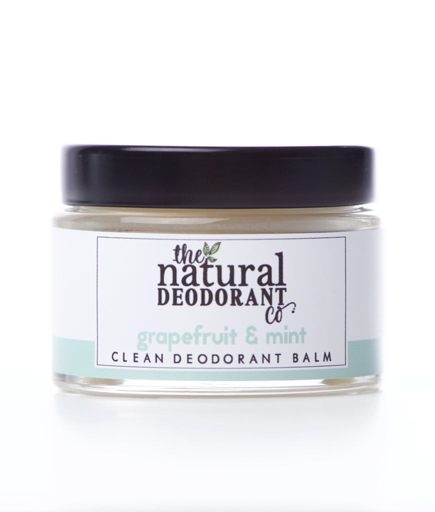 The Natural Deodorant Co Clean Deodorant Cream 55g - Grapefruit & Mint