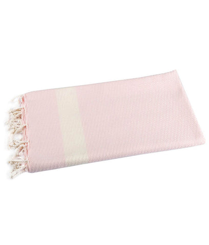 Cotton & Olive Bamboo Peshtemal Towel - Light Pink