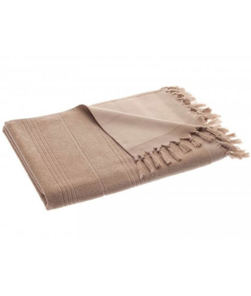 Cotton & Olive Breezy Hammam Towel - Light Coffee
