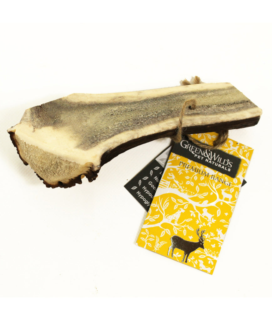Green & Wild's Antler Dog Chew Easy - Enormous