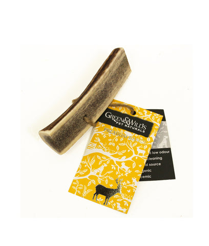 Green & Wild's Antler Dog Chew Easy - Medium