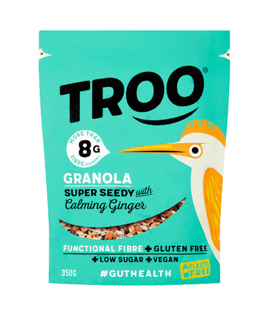 Eat Troo Granola Super Seedy With Calming Ginger - 350g