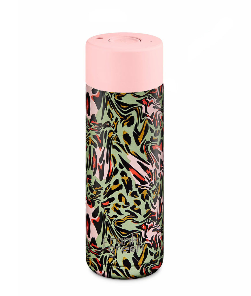 Frank Green Ceramic Reusable Cup 595ml - Wild Ones Rainforest
