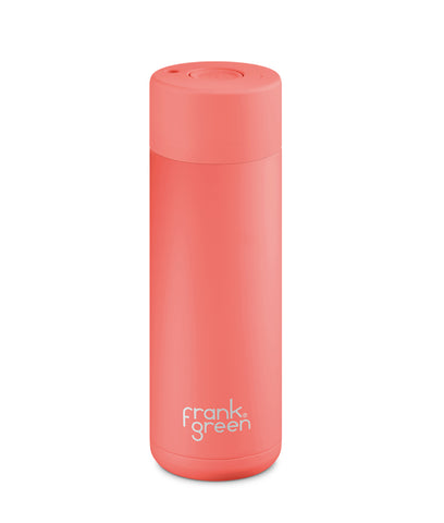 Frank Green Ceramic Reusable Cup 595ml - Coral