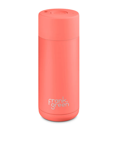 Frank Green Ceramic Reusable Cup 475ml - Coral