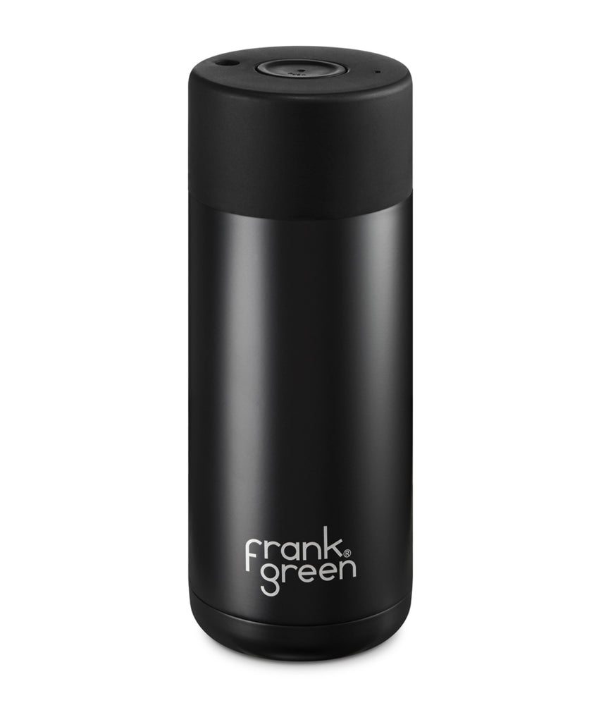 Frank Green Ceramic Reusable Cup 475ml - Black