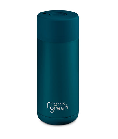 Frank Green Ceramic Reusable Cup 475ml - Marine Blue