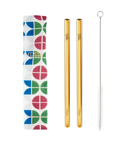Frank Green Reusable Straw Set - Circles