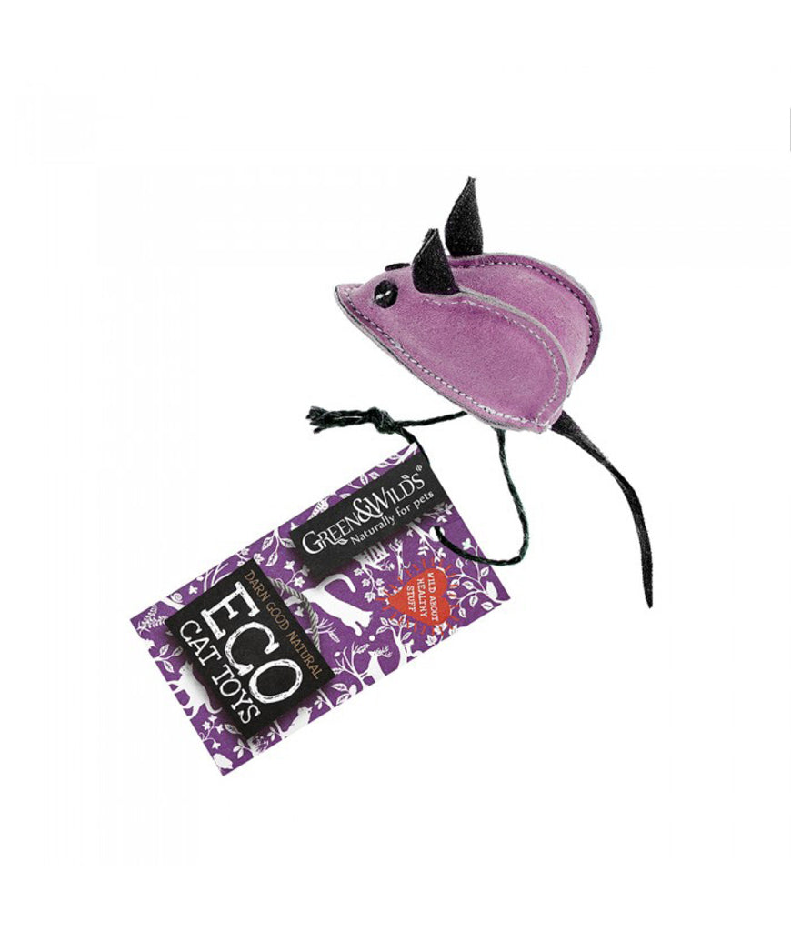 Green & Wild's Eco Cat Toy - Midge The Mouse