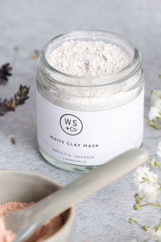Wild Sage + Co White Clay Face Mask - 25g