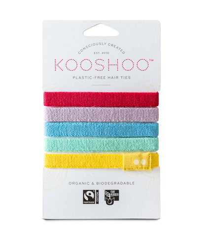 KooShoo Organic Hair Bobbles - Colourful