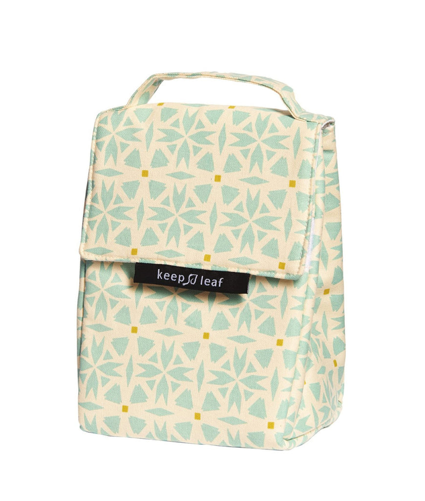 Keep Leaf Insulated Lunch Bag - Geo