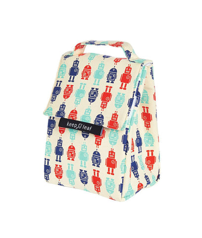 Keep Leaf Insulated Lunch Bag - Robot
