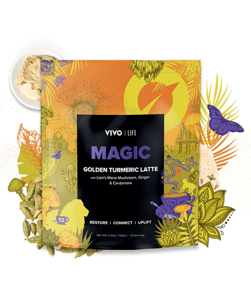 EXPIRING Life Vegan MAGIC Golden Turmeric Latte - 120g